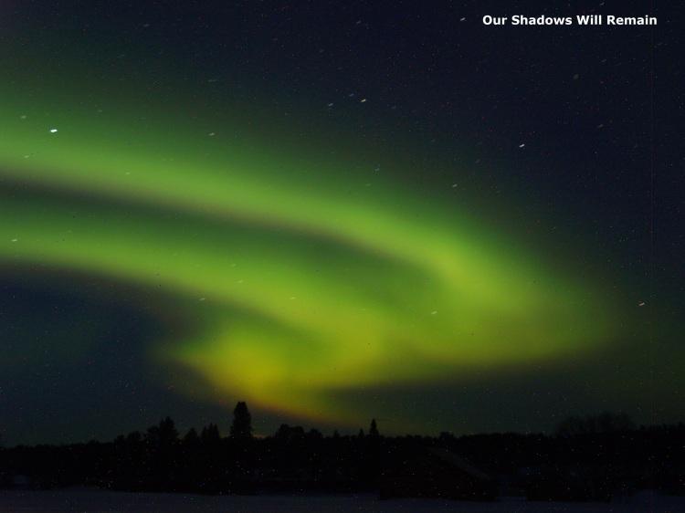 The Vivid Northern Lights