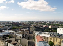 From the top of Kallio Church