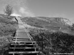 Stairway to Saana
