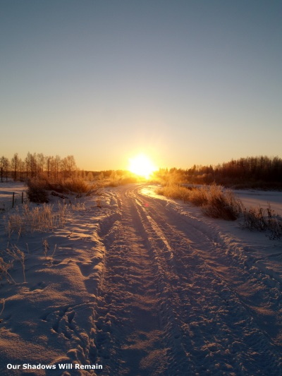 Mid-day in Lapland