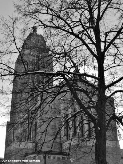 Kallio Church Through the Trees