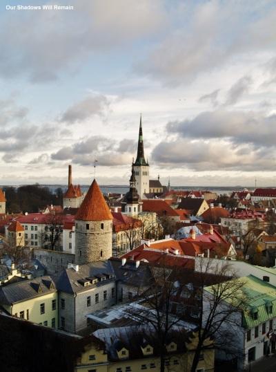 Over Tallinn's Old Town