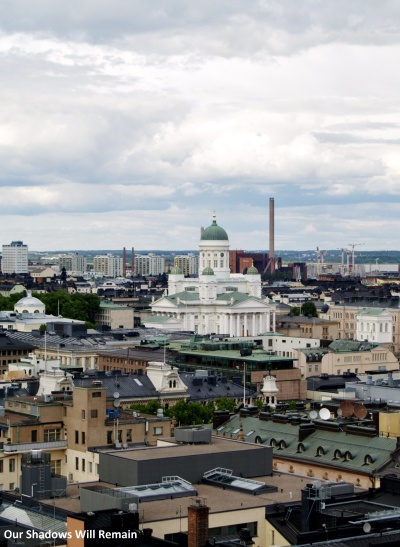 Looking Down on Helsinki Cathedral