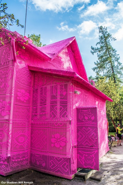 An Unusual Pink House