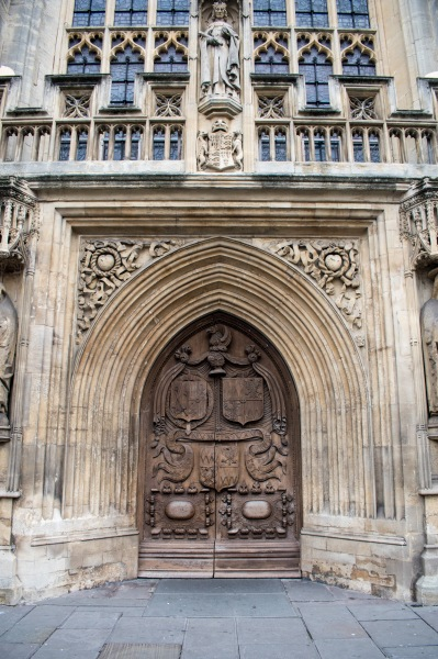 Door to the Abbey