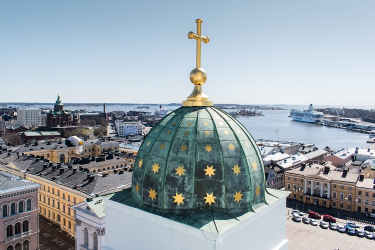 The Views from Helsinki Cathedral
