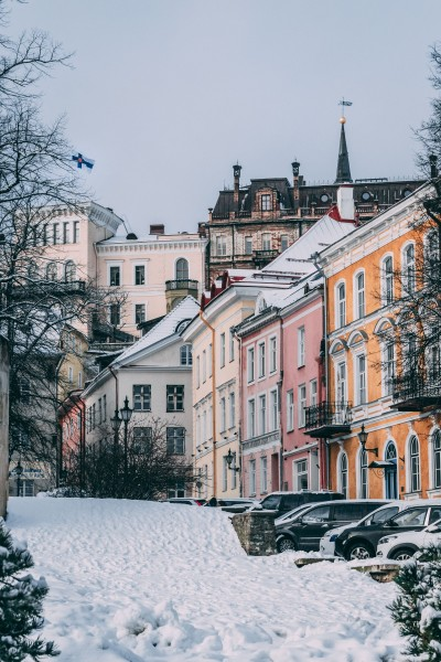 A winter's Day in Tallinn's Old Town