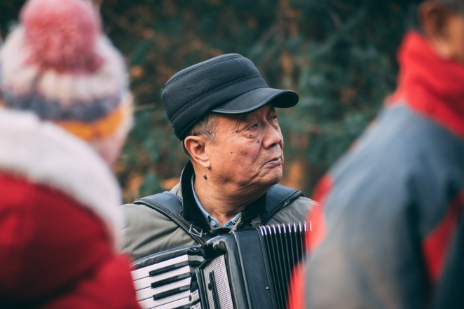 The Singers of Jingshan Park