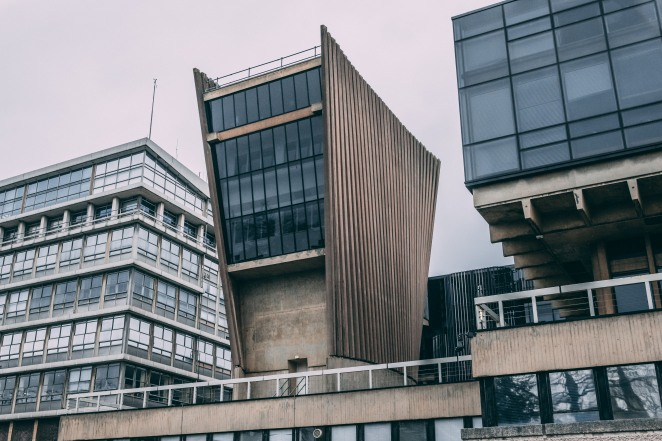 Denys Wilkinson Building - Brutal Oxford