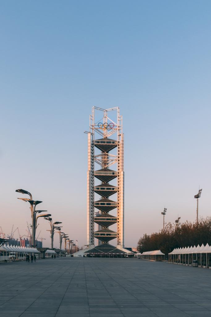 Beijing - Linglong Pagoda