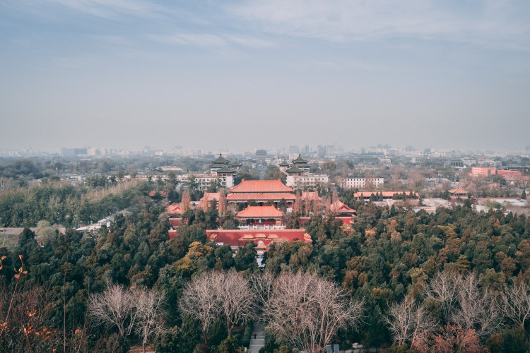 Beijing - View from Jingshan Park