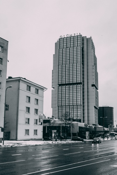 Tallinn and the 1980 Moscow Olympics - Hotel Olümpia