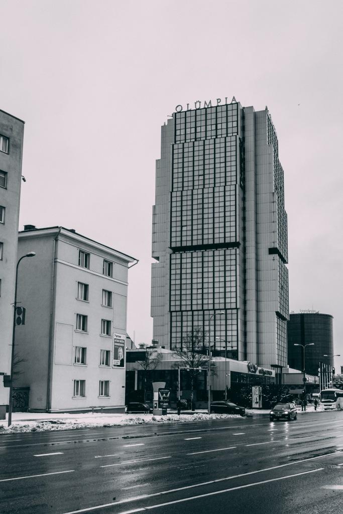 Tallinn and the 1980 Moscow Olympics - Hotel Olümpia