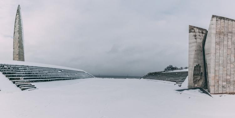 A Winter's Day at the Maarjamäe Memorial