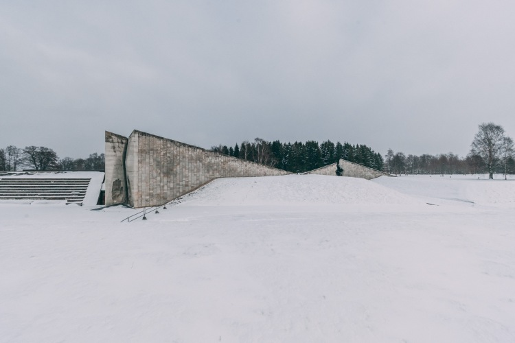 A Winter's Day at the Maarjamäe Memorial